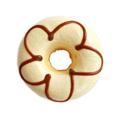 Magnet de frigider Vanilla Glaze Donut