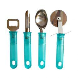 Set 4 accesorii de bucatarie Blue