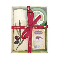 Set cadou Kalliston Olive Lavender