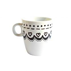 Cana handmade pentru cafea Point of Heart