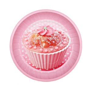 Farfurie metalica Cupcake