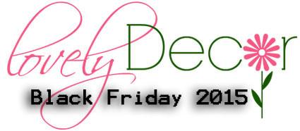 Decoratiuni Interioare si cadouri la pret redus de Black Friday 2015