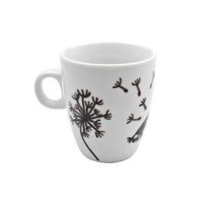 Cana pictata manual pentru cafea Dandelion