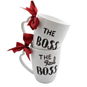 Set cani pictate manual The boss & The real boss