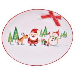 Platou de ceramica Sweet Christmas