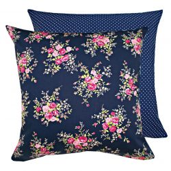 Fata de perna decorativa 40x40cm Rose Bunch Navy
