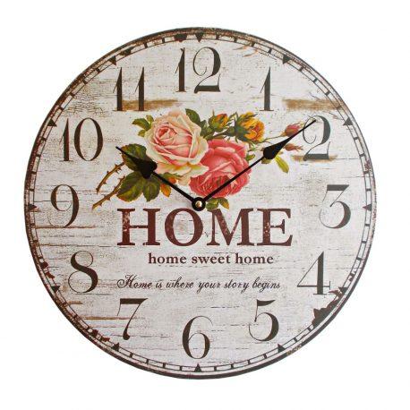 Ceas de perete Home Sweet Home