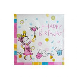Servetele de masa Happy Birthday Princess