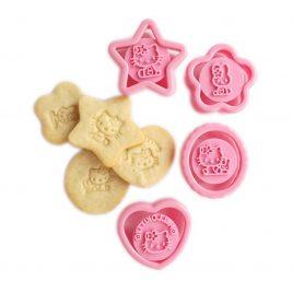 Set 4 decupatoare prajituri Hello Kitty