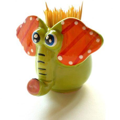 Suport pentru scobitori Green Elephant