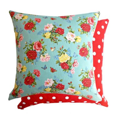 Fata de perna decorativa 40x40cm Summer Garden Rose