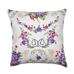Perna decorativa 40x40cm Vintage Roses Purple