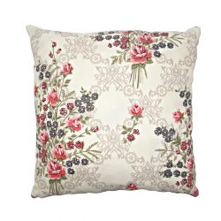 Perna decorativa 40x40cm Vintage Roses Red
