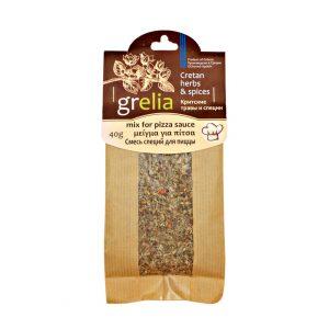 Mix de condimente grecesti pentru sosul de pizza Grelia