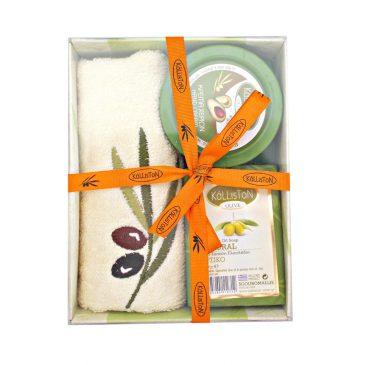 Set cadou Kalliston Olive Natural