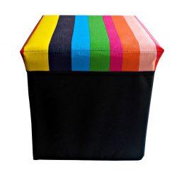 Taburet de depozitare Rainbow