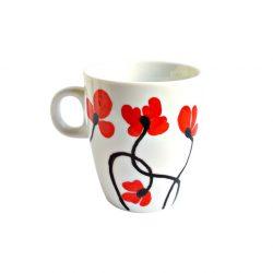 Cana handmade pentru cafea Field of Poppies