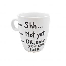 Cana handmade pentru cafea OK now you can talk