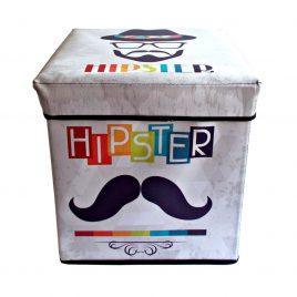 Taburet de depozitare Hipster