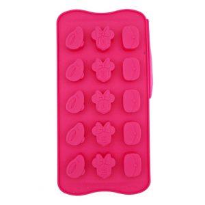 Forma silicon pentru bomboane de ciocolata Minnie Mouse