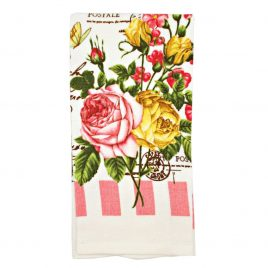 Prosop de bucatarie Vintage Roses