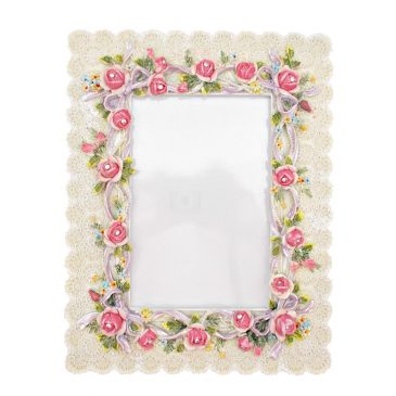 Rama foto Shabby Roses Dentelle