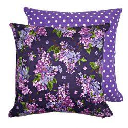 Fata de perna decorativa 40x40cm Fresh Lilacs Violet