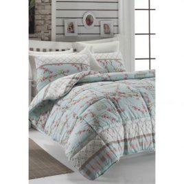 Cuvertura multicolora pentru pat Leunelle