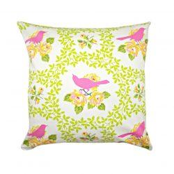 Fata de perna decorativa 50x50cm Mockingbird Pink
