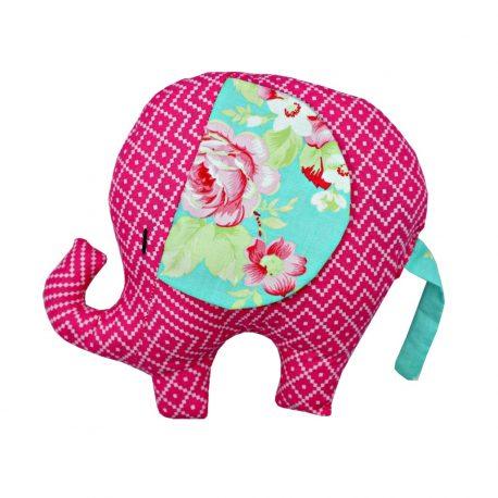 Pernuta jucarie Elefantel Rose
