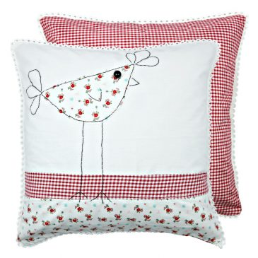 Fata de perna decorativa patchwork Country Chick