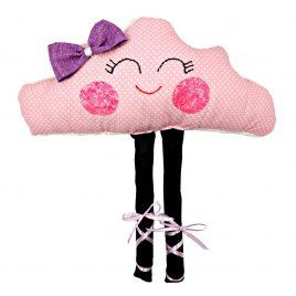 Pernuta jucarie Norisor Balerina Joyfull Pink