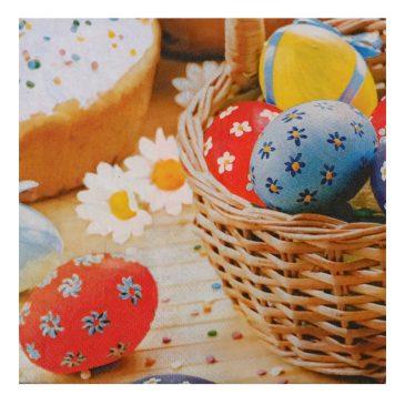 Set 20 servetele pentru masa de Pasti Easter Eggs