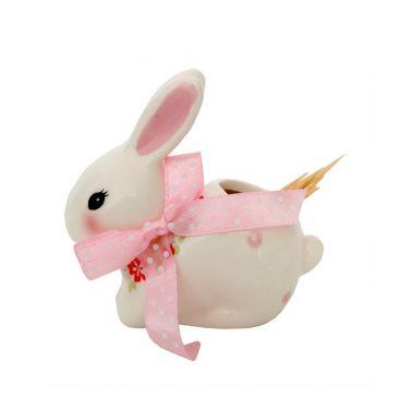 Suport pentru scobitori de Pasti cu iepuras Delicate Bunny