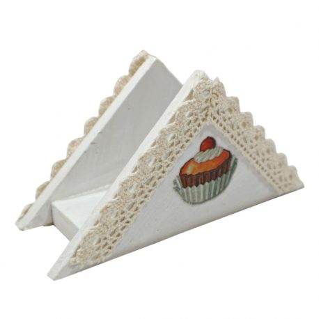 Suport handmade pentru servetele de masa Sweet Cupcake I