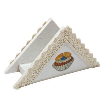 Suport handmade pentru servetele de masa Delices II