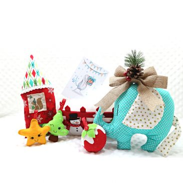Pachet Cadou Craciun pentru copii Santa's Baby