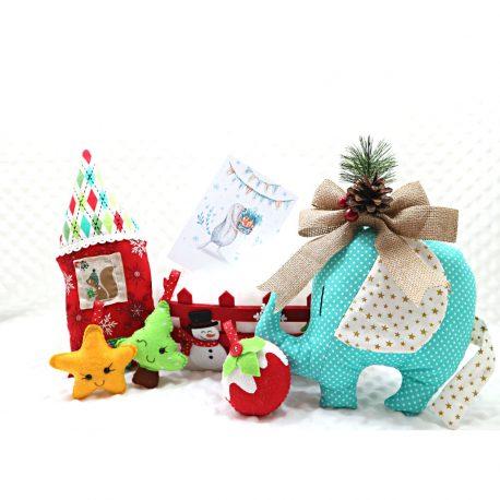 Cadou Craciun pentru copii Santas Baby handmade