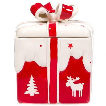 Cutie cu capac Craciun pentru dulciuri Christmas Giftbox