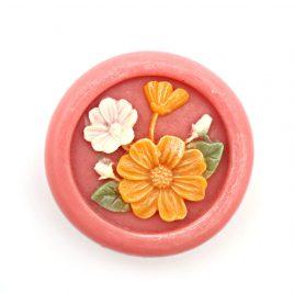 Sapun natural cu trandafir si flori de primavara