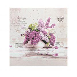 Cutie cadou mica din carton cu Flori de Liliac