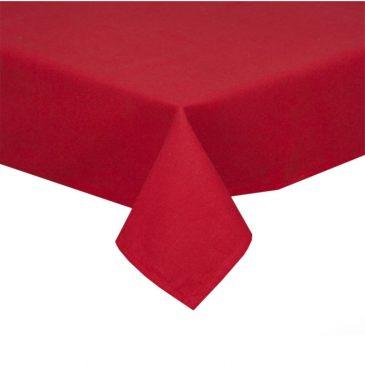 Fata de masa rosie pentru Pasti de 140×180 cm
