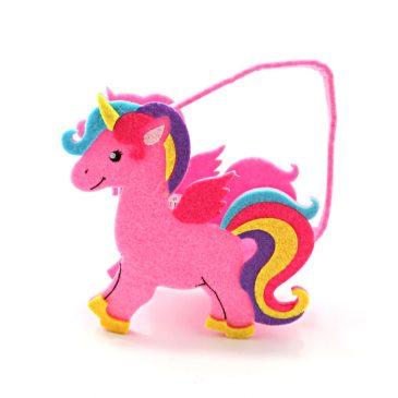 Gentuta cu unicorn roz pentru fetite