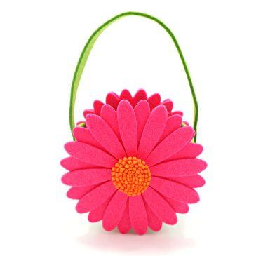 Gentuta in forma de Floare roz pentru fetite
