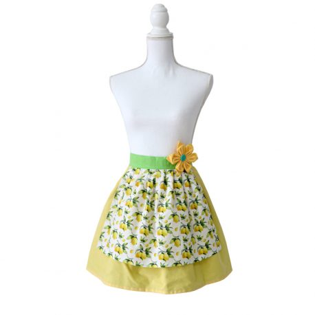 Sort de Bucatarie dama galben Lemons