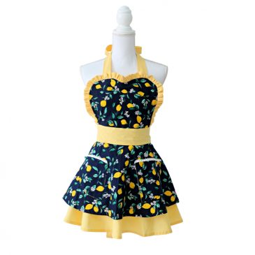 Sort de Bucatarie Chic Lemon Navy